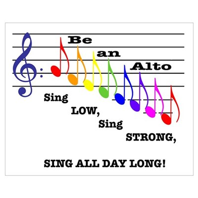 Be an Alto Poster