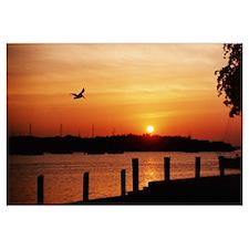 - Biscayne Bay, FL Sunset