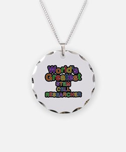 World's Greatest STEM CELL RESEARCHER Necklace