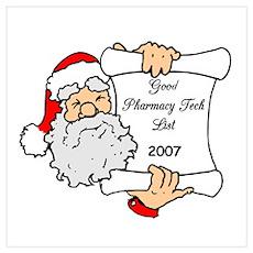 Good Pharm Tech List 2007 Poster