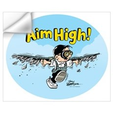 Aim High! Wall Decal