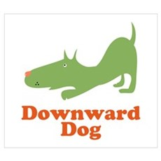 Downward Dog Poster