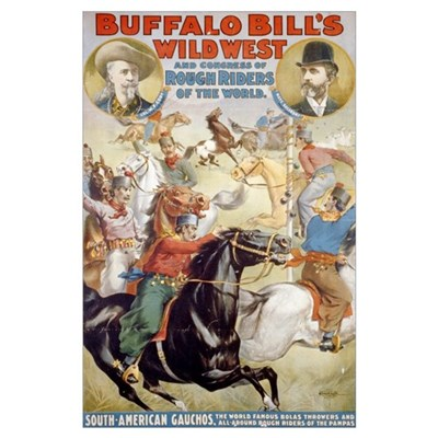 BUFFALO BILL WILD WEST 11x17 Poster