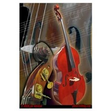 Upright Bass Art 1