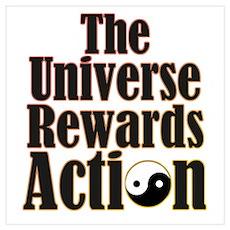 Univers Rewards Action Poster