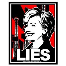 Clinton: LIES Poster