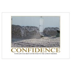 Confidence Motivational Framed Print
