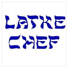 Latke Chef Poster