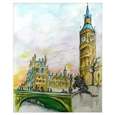 Big Ben Canvas Art