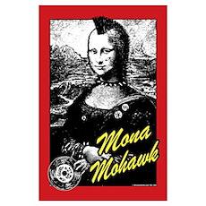 Mona Mohawk Poster