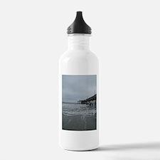 lifes a beach 3 Water Bottle