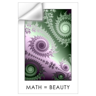 Large Fractal Wall Decal