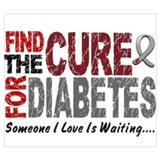 Find The Cure 1 DIABETES Poster