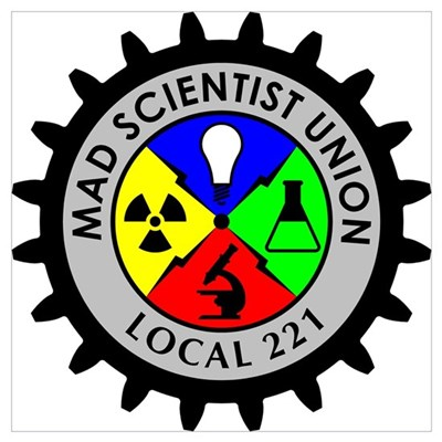 Mad Scientist Union Canvas Art