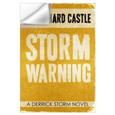 Retro Castle Storm Warning Wall Decal
