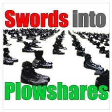 Swords into Plowshares Poster