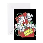 Poodle Christmas Cards (Pk of 10)
