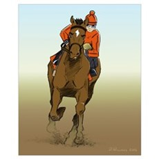 Thoroughbred Horse: Poster