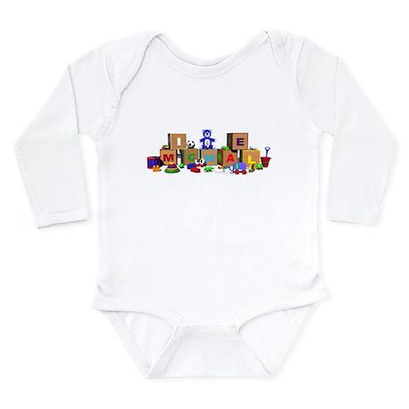 Michael Long Sleeve Infant Bodysuit