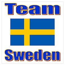 Team Sweden Poster