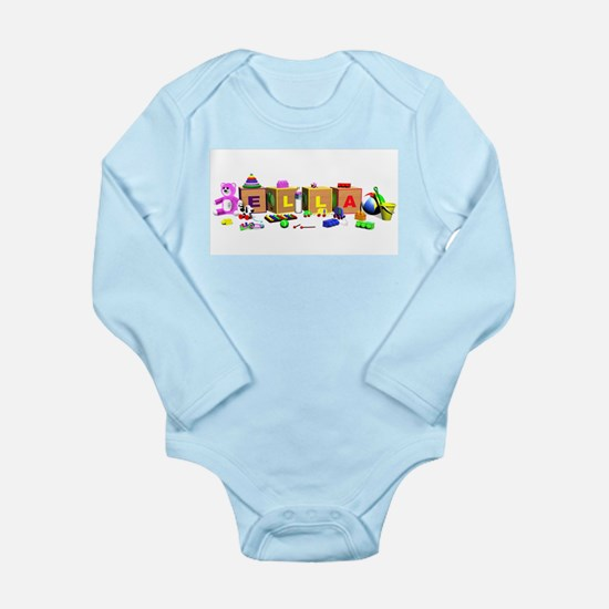 Ella Long Sleeve Infant Bodysuit