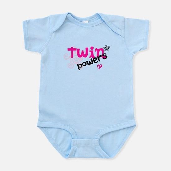 Twin Powers Infant Bodysuit