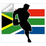 South africa rugby Wall Decals