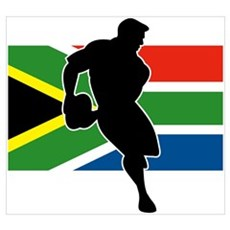 Rugby South Africa Poster