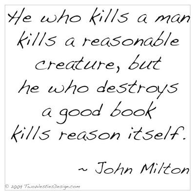 Milton on Books Poster