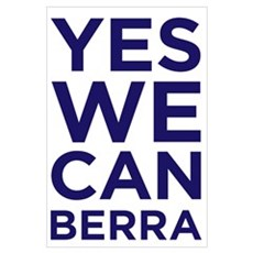 Yes We Canberra Poster