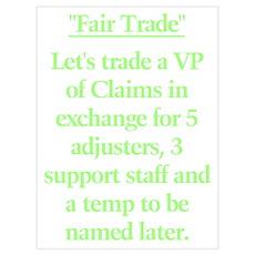 """""""Fair Trade"""" Poster"""