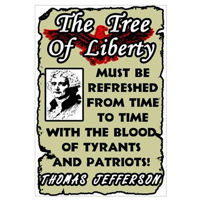 """The Tree Of Liberty!"" Canvas Art"