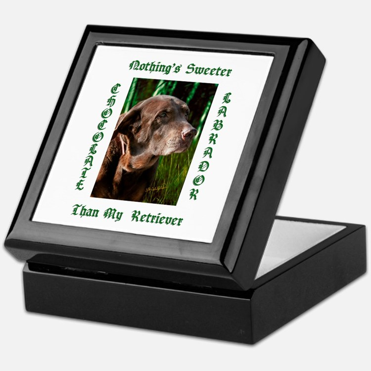 Chocolate Sweet Lab Keepsake Box