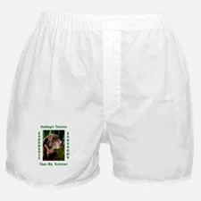 Chocolate Sweet Lab Boxer Shorts