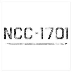 NCC-1701 (worn) Poster