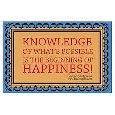 Santayana Knowledge Poster
