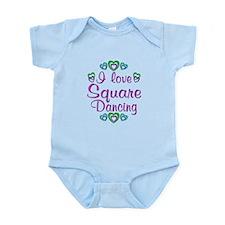 Love Square Dancing Infant Bodysuit