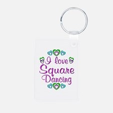 Love Square Dancing Keychains