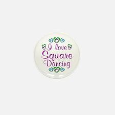 Love Square Dancing Mini Button (10 pack)