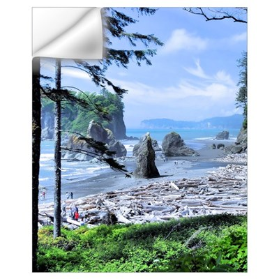 Ruby Beach Wall Decal