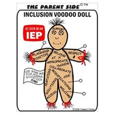 Inclusion Voodoo Doll Framed Print