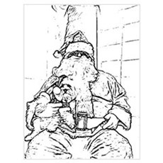 Color Me Santa Canvas Art