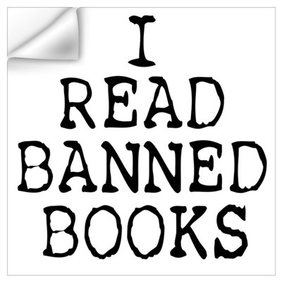 Banned Books Wall Decal