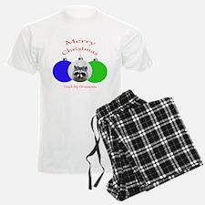 Christmas for adult males Pajamas