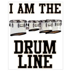 Quad Drummer Canvas Art