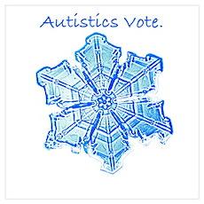 Snowflake Vote Poster