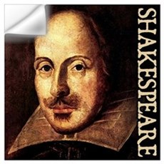 Shakespeare Portrait Wall Decal