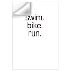 Triathalon Wall Decal