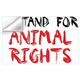 Animal rights Wall Decals