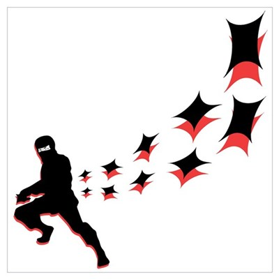 Hip Ninja Poster